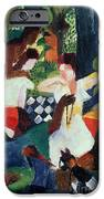 The Turkish Jeweller  iPhone Case by August Macke