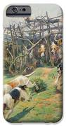 Through the Fence iPhone Case by Arthur Charles Dodd