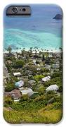 Town of Kailua with Mokulua Islands iPhone Case by Inti St. Clair
