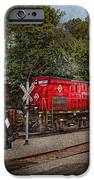 Train - Diesel - Look out for the Locomotive  iPhone Case by Mike Savad