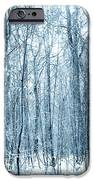 Tree Trunks Pattern iPhone Case by Svetlana Sewell