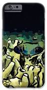 Tropical coral reef 1 iPhone Case by Lanjee Chee