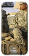 Two U.s. Army Soldiers Relax Prior iPhone Case by Stocktrek Images