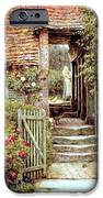 Under the Old Malthouse Hambledon Surrey iPhone Case by Helen Allingham
