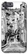 Vers le haut de La Rue iPhone Case by John Rizzuto