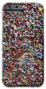 Wall of chewing gum Seattle iPhone Case by Garry Gay