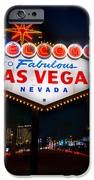 Welcome to Las Vegas iPhone Case by Steve Gadomski