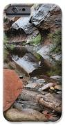West Fork Trail River and Rock Horizontal iPhone Case by Heather Kirk