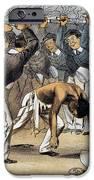 WEST POINT CARTOON, 1880 iPhone Case by Granger