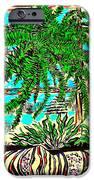Window Loving Fern iPhone Case by Al Goldfarb