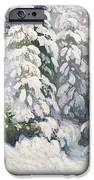 Winter Tale iPhone Case by Aleksandr Alekseevich Borisov