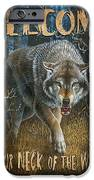 Wold Neck of the Woods iPhone Case by JQ Licensing