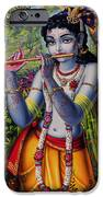 Krishna With Flute  IPhone 6s Case by Vrindavan Das