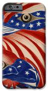 Proud Of Eagle IPhone Case by Jalal Gilani