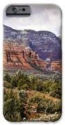 Sedona Arizona In Winter Coat IPhone Case by Bob and Nadine Johnston