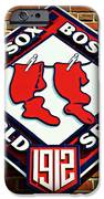 Boston Red Sox 1912 World Champions IPhone Case by Stephen Stookey