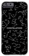 Constellations IPhone Case by Taylan Soyturk