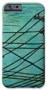 Lines IPhone Case by William Cauthern