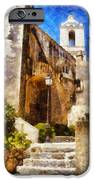 Mediterranean Steps IPhone Case by Pixel Chimp