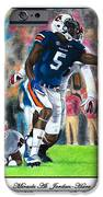 Miracle At Jordan-hare IPhone Case by Lance Curry