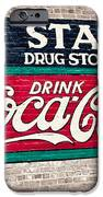 Star Drug Store Wall Sign IPhone Case by Scott Pellegrin