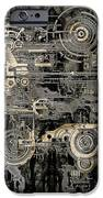 Technically Electronic Background IPhone Case by Diuno Ashlee