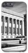 The Field Museum In Chicago In Black And White IPhone Case by Paul Velgos
