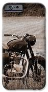 The Great Escape Motorcycle IPhone Case by Mark Rogan