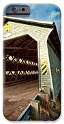 Wooden Covered Bridge  IPhone Case by Ulrich Schade