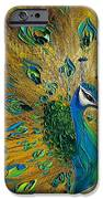 Peacock IPhone Case by Willson Lau