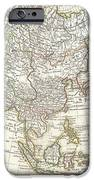 1770 Janvier Map Of Asia IPhone Case by Paul Fearn