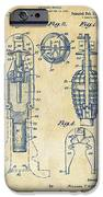 1921 Explosive Missle Patent Vintage IPhone Case by Nikki Marie Smith