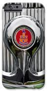 1935 Pierce-arrow 845 Coupe Emblem IPhone Case by Jill Reger