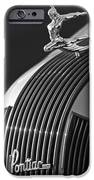 1935 Pontiac Sedan Hood Ornament 3 IPhone Case by Jill Reger