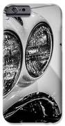 1950's Chevrolet Corvette C1 In Black And White IPhone Case by Paul Velgos