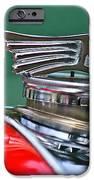 1953 Morgan Plus 4 Le Mans Tt Special Hood Ornament IPhone Case by Jill Reger