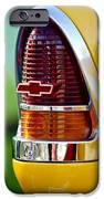1955 Chevrolet Taillight Emblem IPhone Case by Jill Reger