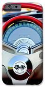 1957 Chevrolet Corvette Convertible Steering Wheel IPhone Case by Jill Reger