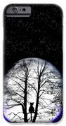 Black Cat On Tree IPhone Case by Nina Ficur Feenan
