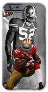 Patrick Willis 49ers IPhone Case by Joe Hamilton