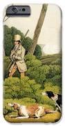 Pheasant Shooting IPhone Case by Henry Thomas Alken