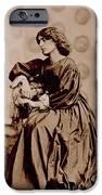 Portrait Of Jane Morris IPhone Case by John Parsons