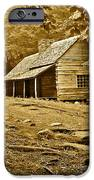 Smoky Mountain Cabin IPhone Case by Frozen in Time Fine Art Photography