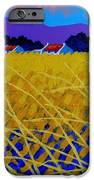 Yellow Meadow IPhone Case by John  Nolan