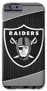 Oakland Raiders IPhone Case by Joe Hamilton