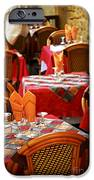 Restaurant Patio In France IPhone Case by Elena Elisseeva