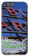 Seattle Market Sign IPhone Case by Brian Jannsen