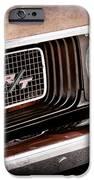 Dodge Challenger Rt Grille Emblem IPhone Case by Jill Reger