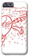Mr Redhair Serie IPhone Case by Nato  Gomes
