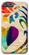 Heart And Flowers IPhone Case by Marvin Blaine